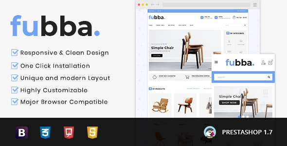 Fubba - Furniture Store Prestashop 1.7 Responsive Theme - Miscellaneous PrestaShop