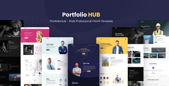 PortfolioHub - Multi Professional Html5 Template - Portfolio Creative