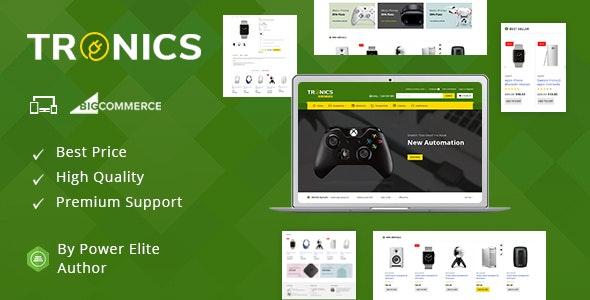 Tronics - Multipurpose Stencil BigCommerce Theme - BigCommerce eCommerce