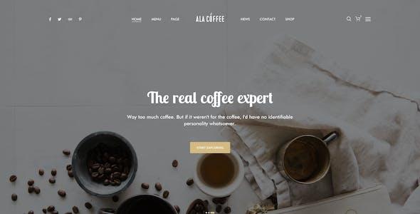 Alacarte - Restaurant & Cafe Sketch Template