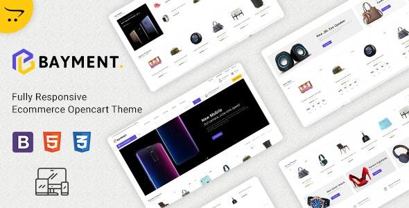 Bayment - Multipurpose Responsive Opencart Theme - Shopping OpenCart