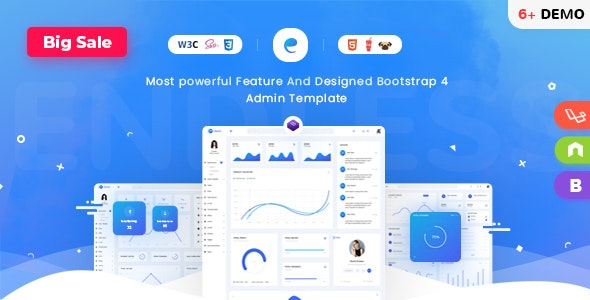 Endless - Laravel & Html Admin Template - Admin Templates Site Templates