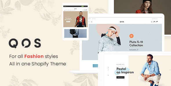 QOS - Minimal Fashion eCommerce Shopify Theme - Fashion Shopify