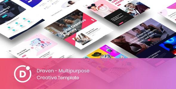 Draven – Multipurpose Creative Template - Business Corporate