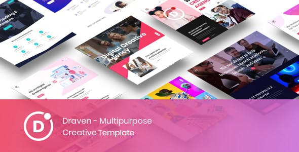 Draven – Multipurpose Creative Template