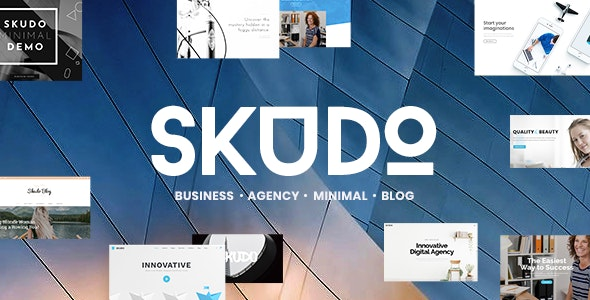 Skudo - Responsive Multipurpose WordPress Theme - Corporate WordPress