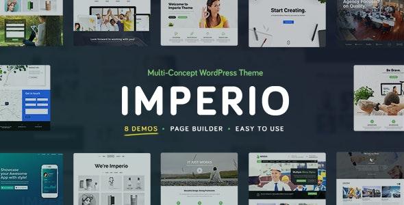 Imperio - Business, E-Commerce, Portfolio & Photography WordPress Theme - Corporate WordPress