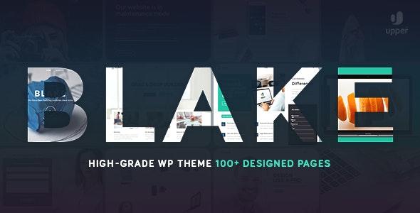 Blake | High-Grade MultiPurpose WordPress Theme - Corporate WordPress