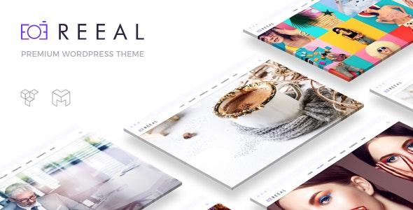 Reeal | Photography WordPress - Photography Creative
