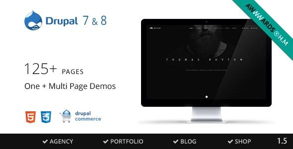 Rhythm - Drupal 7 & 8 Multipurpose Commerce theme - Creative Drupal