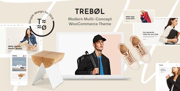 Trebol - Minimal & Modern Multi-Concept WooCommerce Theme - WooCommerce eCommerce
