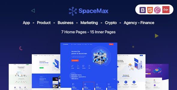 SpaceMax - Multipurpose HTML Template