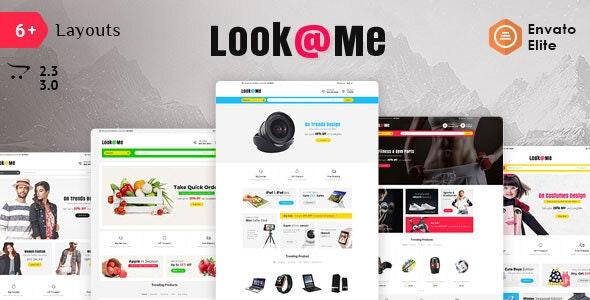 Look Me - Opencart 3 Multi Purpose Responsive Theme - Shopping OpenCart
