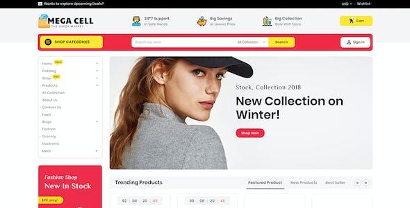 MegaCell - Shopify Multi-Purpose Responsive Theme