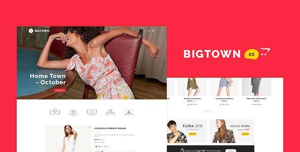 Bigtown - Opencart 3 Multi-Purpose Responsive Theme