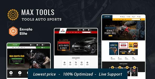 Max Tools - Opencart Multi-Purpose Equipment Theme - Technology OpenCart