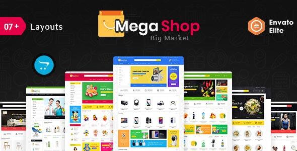 Mega Market - Opencart Multi-Purpose Responsive Theme - Shopping OpenCart