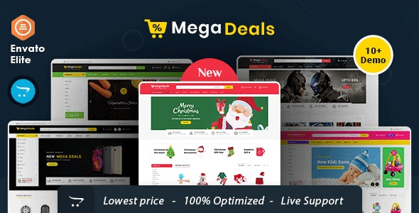 Mega Deals - Opencart Multi-Purpose Responsive Theme - Shopping OpenCart