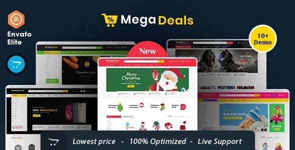Mega Deals - Opencart Multi-Purpose Responsive Theme