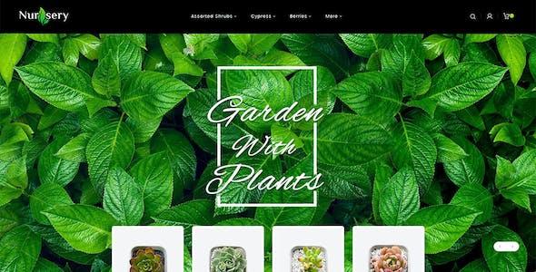 Nursery Plant - Opencart Multi-Purpose Responsive Theme