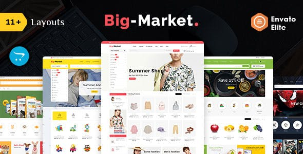 Big Market - Opencart Multi-Purpose Responsive Theme