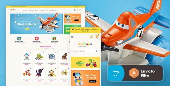 Kid Toys - Opencart 3 Multi-Purpose Responsive Theme - Shopping OpenCart