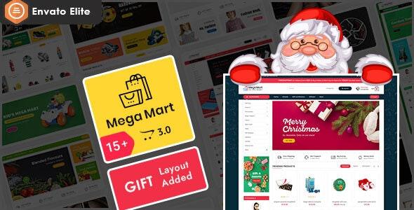 Mega Mart - Opencart 3 Multi-Purpose Responsive Theme - Shopping OpenCart