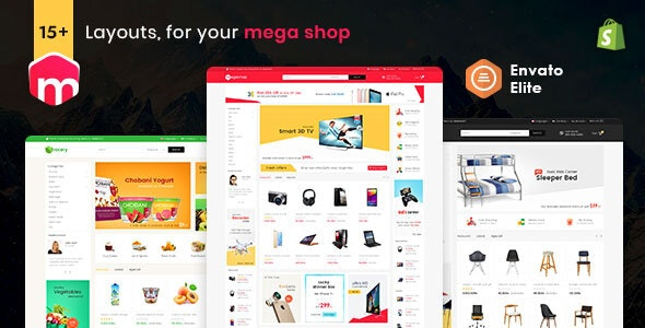 Mega Shop - Shopify Multi-Purpose Responsive Theme - Shopping Shopify