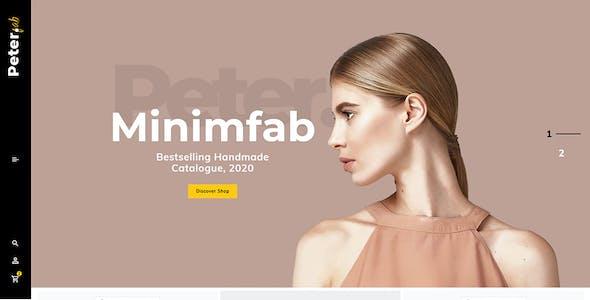 Peter - eCommerce Shopify Theme for Boutique Shop