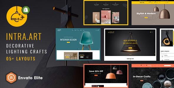 Intra Art - Shopify Multi-purpose Responsive Theme - Shopping Shopify