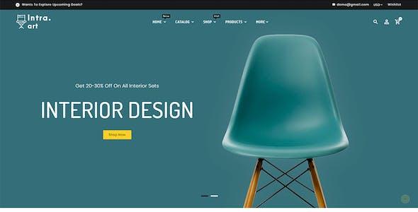Intra Art - Multi-purpose Shopify Theme