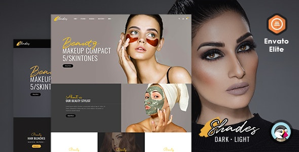 Shades - Bridal Studio - Prestashop Responsive Theme - Health & Beauty PrestaShop