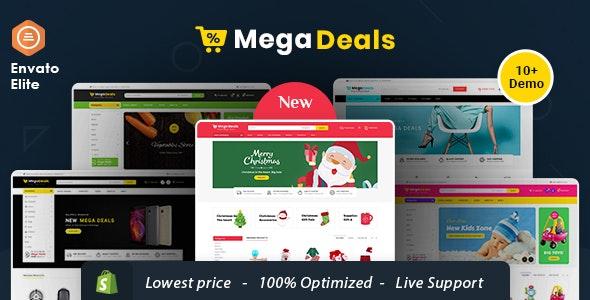 Mega Deals - Shopify Multi-Purpose Responsive Theme - Shopping Shopify