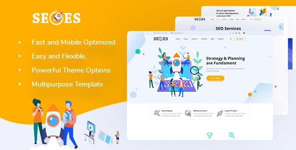 Seoes - Marketing Agency WordPress Theme - Marketing Corporate