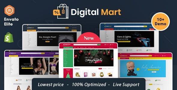 Digital Mart - Shopify Multi-Purpose Responsive Theme - Shopping Shopify