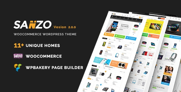 Sanzo | Responsive WooCommerce WordPress Theme - WooCommerce eCommerce