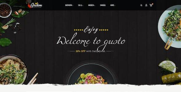 Gruchone - Opencart Multi-Purpose Theme
