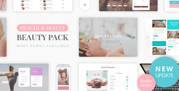 Beauty Pack Wellness Spa Massage By Nicdark Themeforest