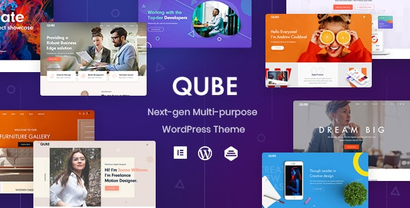 Qube - Responsive Multi-Purpose Theme - Business Corporate