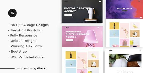 Avax - Creative Portfolio WordPress Theme - Portfolio Creative