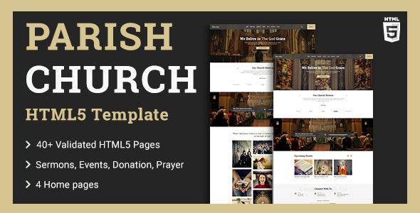 Parish | Church HTML5 Template - Churches Nonprofit