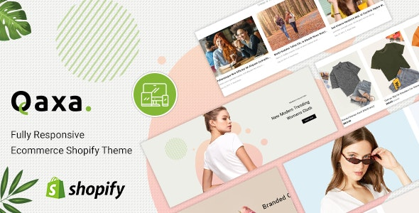 Qaxa - Responsive Fashion Shopify Theme - Fashion Shopify