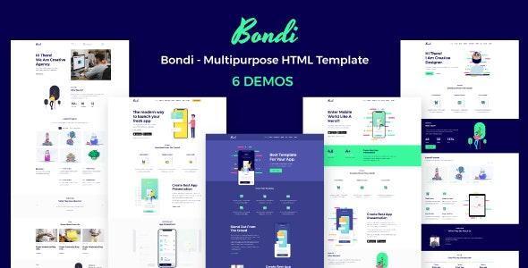 Bondi - Multipurpose HTML Template - Creative Site Templates