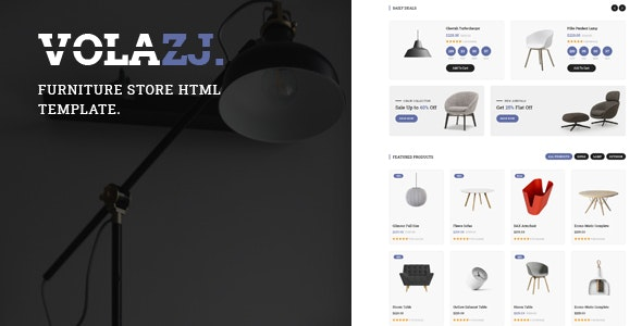 Volazj - Furniture Store HTML Template - Shopping Retail
