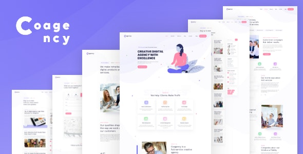 Cogency - SEO / Digital Agency HTML5 Template - Portfolio Creative