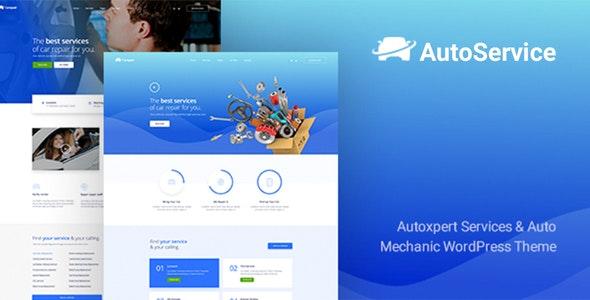 AutoService - A Car Repair Services & Auto Mechanics WordPress Theme - Business Corporate