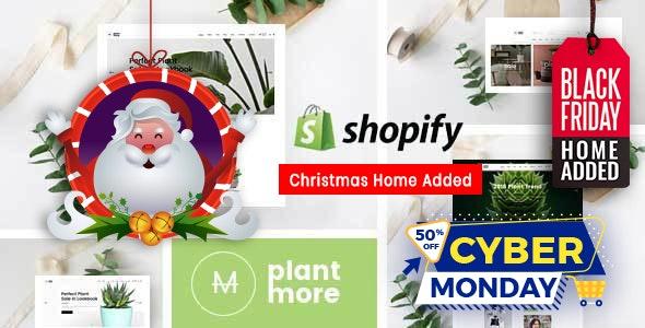 Plantmore Flower Nursery Shopify Theme