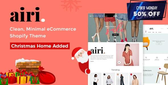Minimal Shopify Theme - Airi - Shopping Shopify