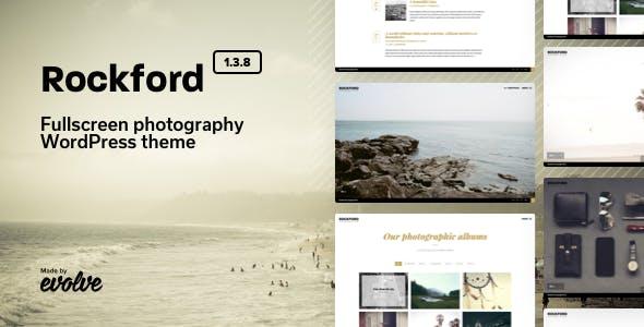Rockford - Fullscreen Photography WordPress Theme