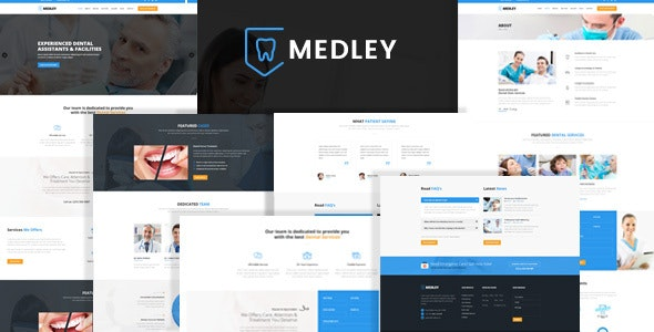 Medley - Dental Clinic HTML Template - Health & Beauty Retail